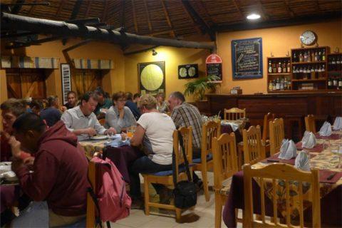 Le restaurant de l'Hôtel Isalo Ranch