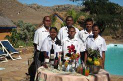 Restaurant Isalo Madagascar