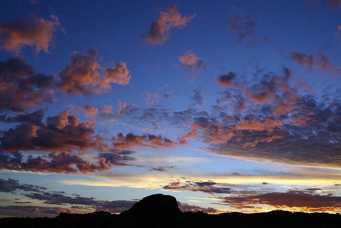 Couché du soleil Isalo Madagascar